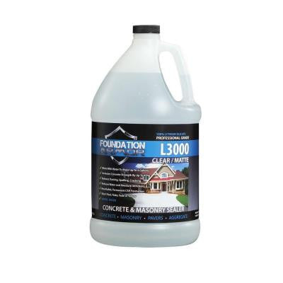 L3000 1-gal. Concentrated Lithium Silicate Concrete Sealer, Hardener and Densifier