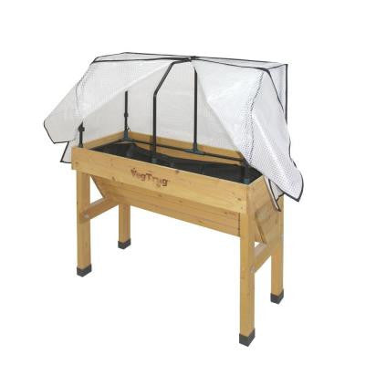 41 in. VegTrug Small Wallhugger Greenhouse Frame and PE Cover