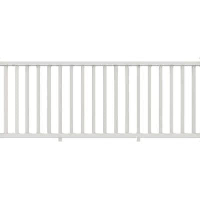 Select White Vinyl Rail Kit with Square Balusters