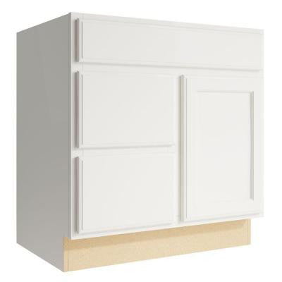 Stig 30 in. W x 31 in. H Vanity Cabinet Only in Lace