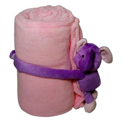 Elephant Polyester Micro Plush Throw