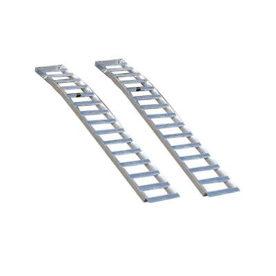 Aluminum Solid Arched Loading Ramps (2-Pack)