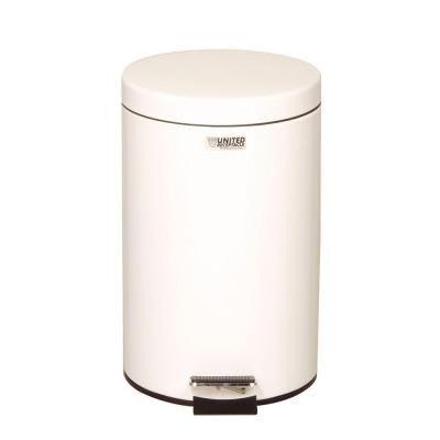 Medi-Can 3.5 Gal. White Step-On Medical Trash Can
