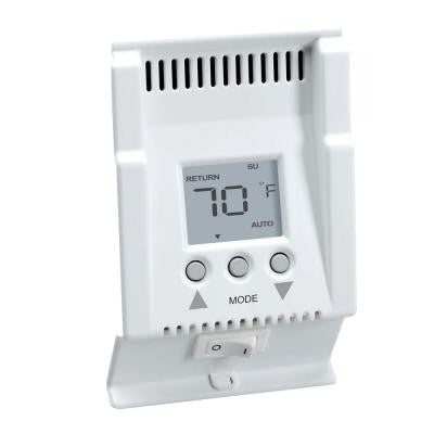 Smart-Base 240-Volt 5-1-1 Programmable 4 Events/Day Baseboard Thermostat in White