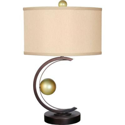 Century 27 in. Copper Table Lamp