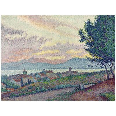 26 in. x 32 in. St.Tropez Pinewood 1896 Canvas Art