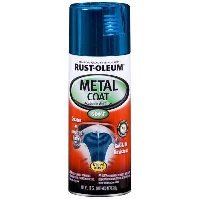 11 oz. Metal Coat Blue Spray Paint (Case of 6)