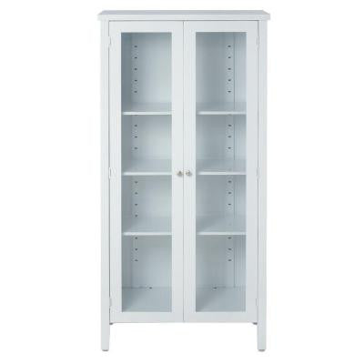 Elixir 60 in. x 29 in. Steel Storage Cabinet in White