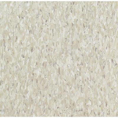 Imperial Texture VCT 3/32in. x 12 in. x 12 in. Shelter White Standard Excelon Vinyl Tile (45 sq. ft. / case)