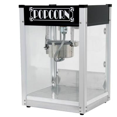 Gatsby 4 oz. Popcorn Machine in Black