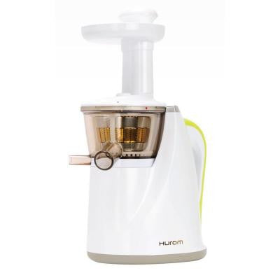 Slow Juicer Model HU-100W New White with Cookbook