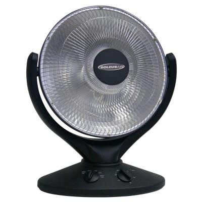 800-Watt Oscillating Radiant Portable Heater with Carrying Handle