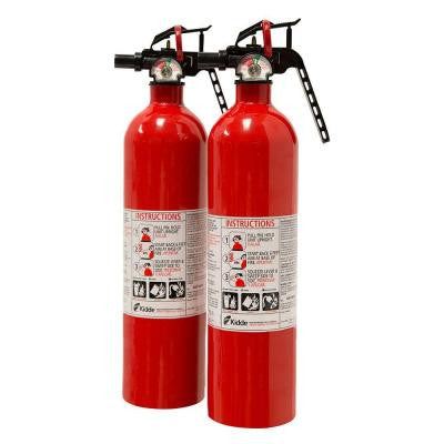 Recreational 1-A:10 B:C Fire Extinguisher (2-Pack)