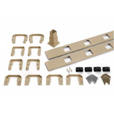 Transcend 67.5 in. Rope Swing Horizontal Square Baluster Accessory Kit