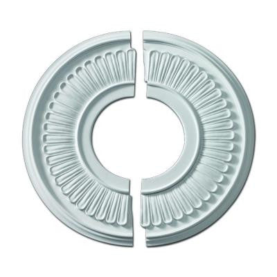15-1/2 in. x 15-1/2 in. x 5/8 in. Polyurethane Jefferson Ceiling Medallion (2-Piece)