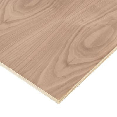 3/4 in. x 2 ft. x 4 ft. PureBond Walnut Plywood Project Panel