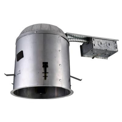 6 in. Recessed Line Voltage Remodel IC Air Tight LED Housing