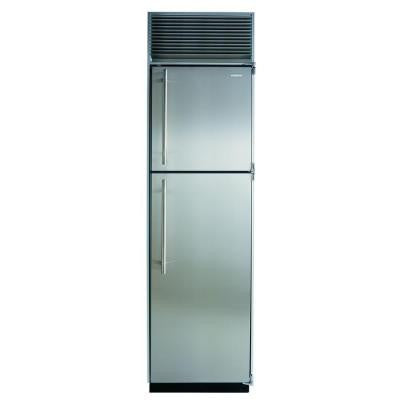 14.9 cu. ft. Top Freezer Bottom Refrigerator in Stainless Steel and with Counter Depth