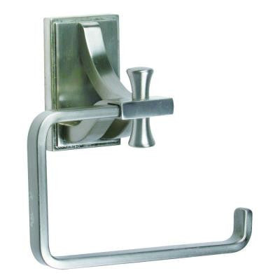 Ironwood Single Post Toilet Paper Holder in Satin Nickel