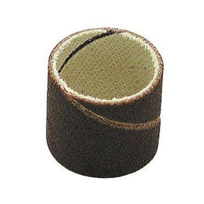 3/8 in. Diameter x 1/2 in. 80 Grit Sanding Bands (100-Pack)