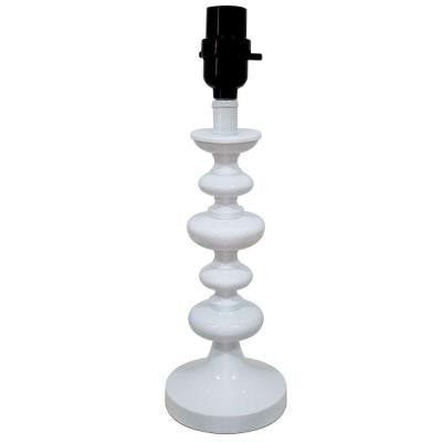 Mix and Match Glossy White Accent Lamp