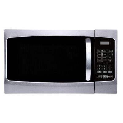 1.3 cu. ft. Countertop Microwave Oven in Stainless Steel Front