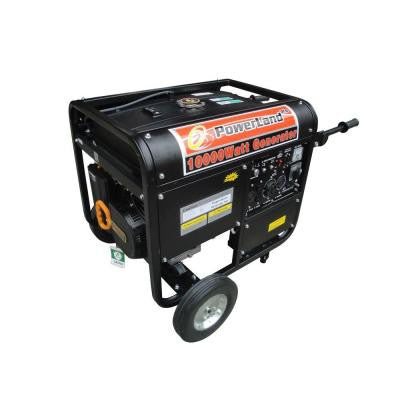 10,000-Watt 1 Gasoline Powered Electric Start Portable Generator with Auto Idle Control