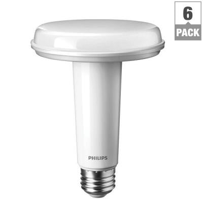 SlimStyle 65W Equivalent Soft White BR30 Dimmable LED Light Bulb (6-Pack)