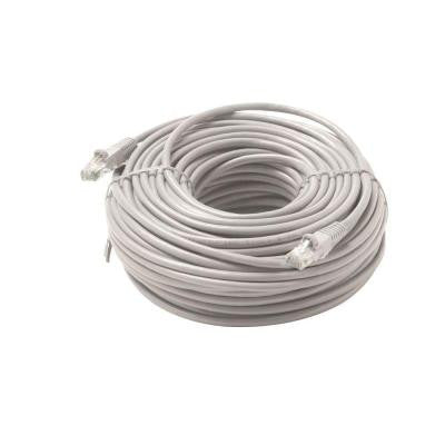 50 ft. Molded Cat5E UTP Patch Cord - Grey