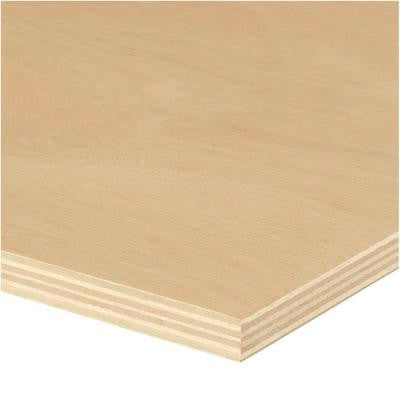 Sande Plywood (Common: 3/4 in. x 4 ft. x 8 ft.; Actual: 0.709 in. x 48 in. x 96 in.)