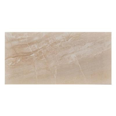 Pietra Bella Beige 12 in. x 24 in. Porcelain Floor and Wall Tile (16.68 sq. ft. / case)
