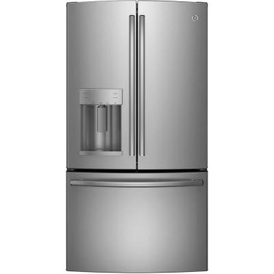 22.1 cu. ft. French Door Refrigerator in Stainless Steel, Counter Depth