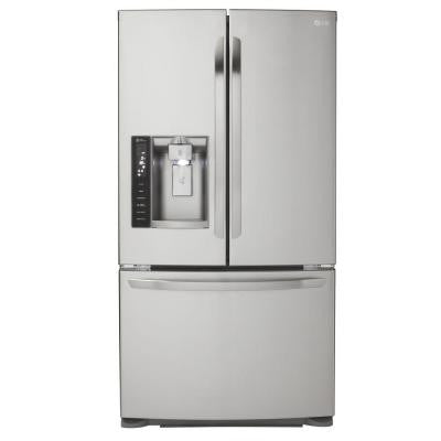 19.8 cu. ft. French Door Refrigerator in Stainless Steel