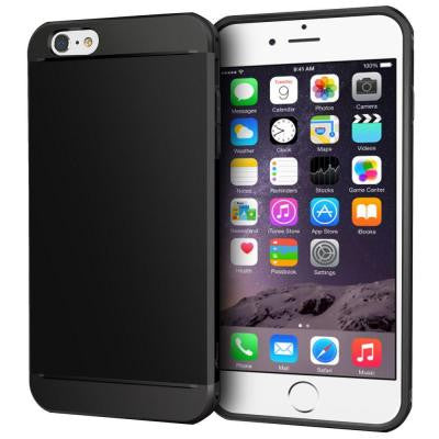 Exec Tough Hybrid Armor Case for Apple iPhone 6/6S - Black