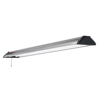 Premium Plus 49 in. 2-Light Platinum Shoplight