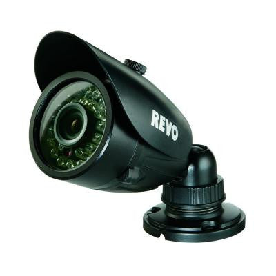 Wired 700 TVL Indoor/Outdoor Bullet Surveillance Camera with 100 ft. Night Vision