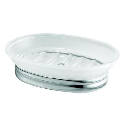 York Soap Dish in Clear Frost