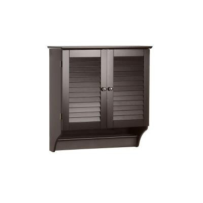 Ellsworth 24 in. W Wall Cabinet in Espresso