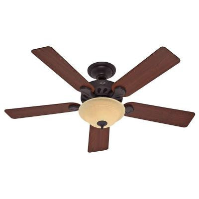 Five Minute 52 in. New Bronze Ceiling Fan