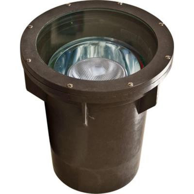 Brantley 1-Light Bronze Outdoor In-Ground Well Light