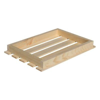 18 in. x 3 in. Natural Pine Crate Lid