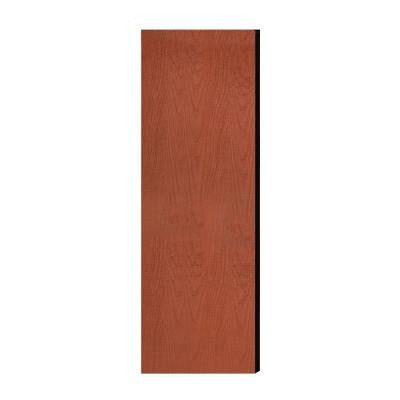 Laminate Double End Side Panel for 21 in. D Extra Wide Designer Wood Locker without Sloping Hood in Cherry