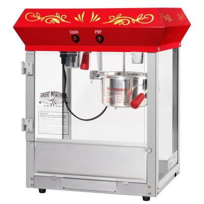 All-Star GNP-450 4 oz. Red Popcorn Machine