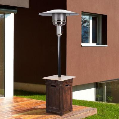 Sonoma Envirostone and Travertine 40,000 BTU Propane Gas Patio Heater