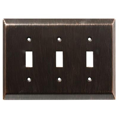 Stately 3 Gang Switch Wall Plate