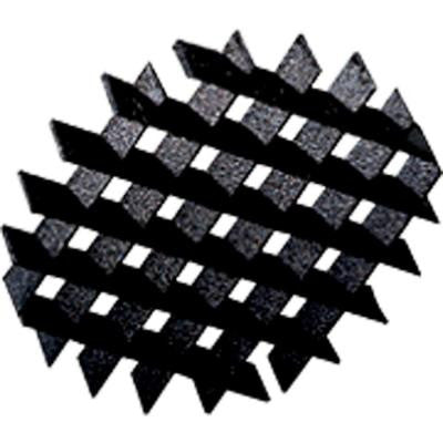 Black Landscape Accessory Louver