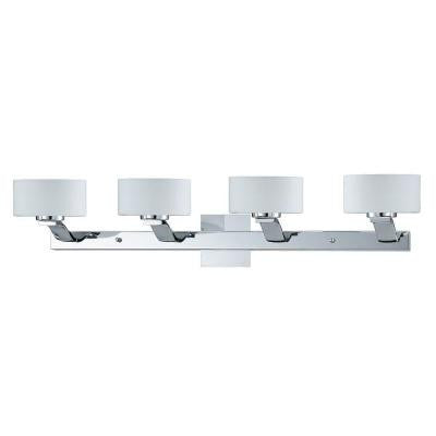 Kawan 4-Light Chrome Bath Vanity Light