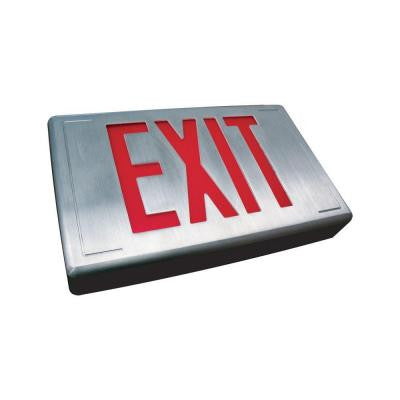 Nexis 1 Light Die Cast Aluminum LED Universal Double Face Exit