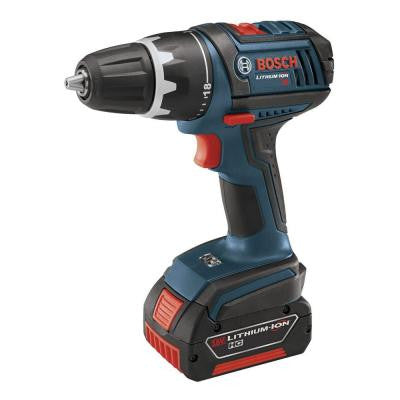18-Volt Lithium-Ion 1/2 in. Cordless Compact Tough Drill/Driver with (2) FatPack (4.0Ah) Battery