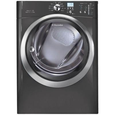 IQ-Touch 8.0 cu. ft. Electric Dryer with Steam in Titanium